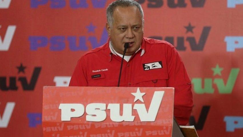 Diosdado Cabello acusa al Gobierno dominicano de la suspensión de las elecciones