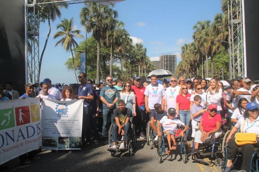 Alcaldía del Distrito Nacional y organizaciones se unen en el Malecón por la Inclusión