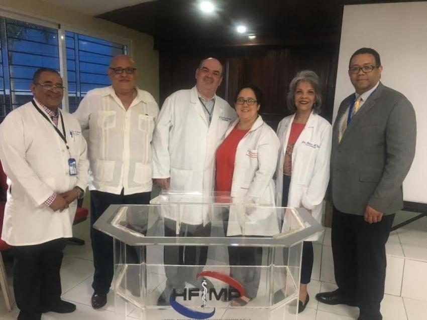 Médicos en formación del Moscoso Puello reciben capacitación sobre Lepra