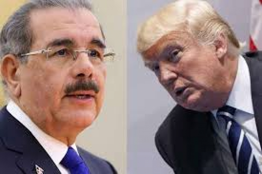 El presidente de RD Danilo Medina se reunirá con el presidente de EE.UU Donald Tump; tratarán varios temas