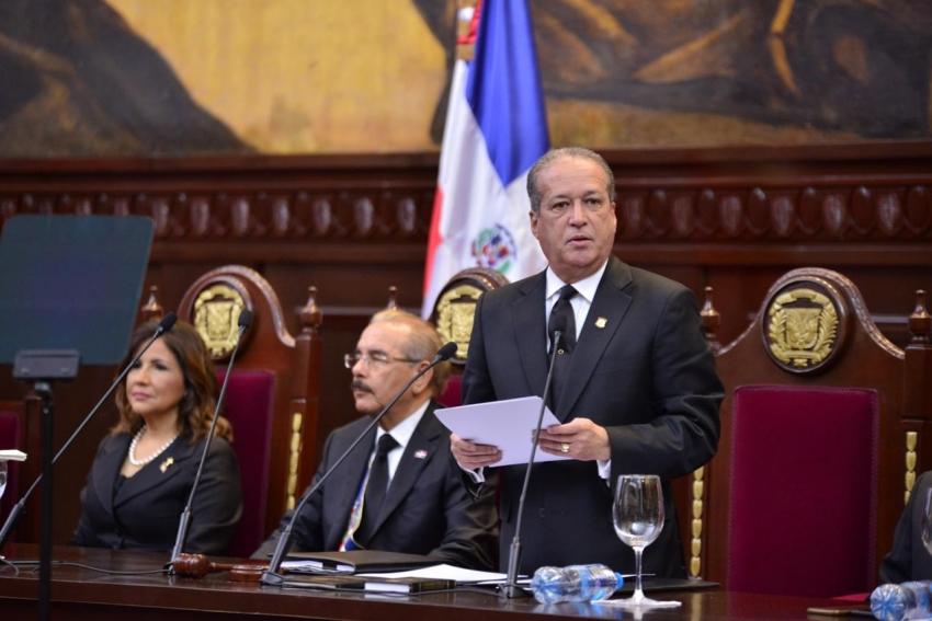 Presidente Senado dice país está a la espera JCE garantice comicios libres y transparentes que avalen y legalicen a quienes resulten electos en elecciones