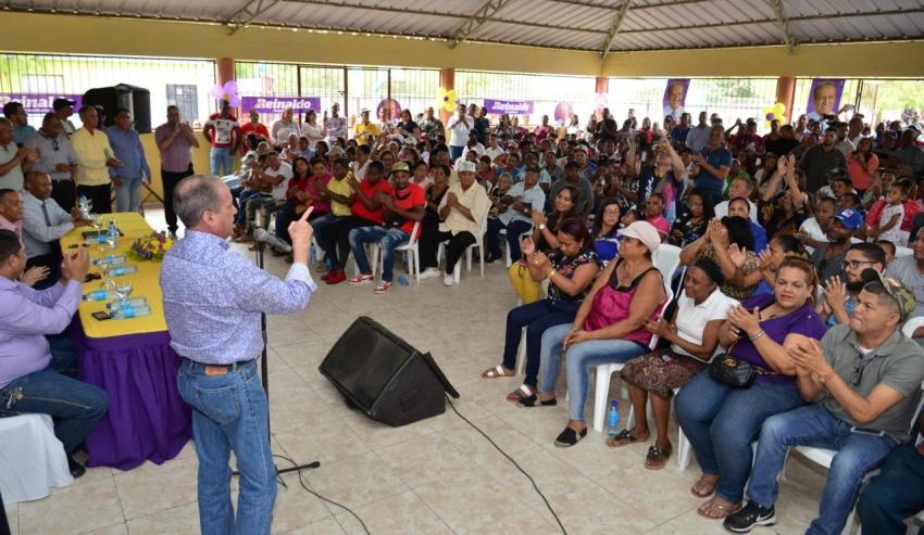 Pared Pérez dice gran respaldo recibido en Santiago pauta lo que sucederá a su alrededor hasta ser el candidato presidencial del PLD