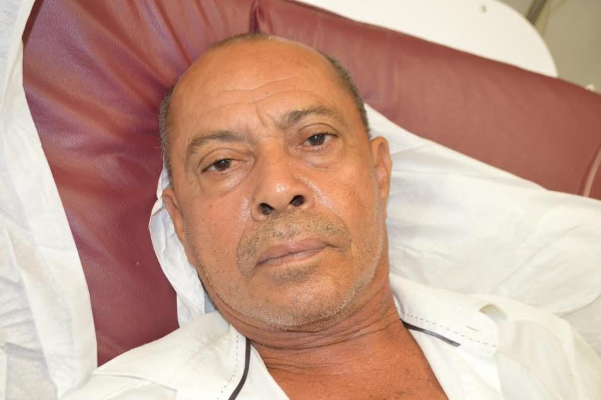 Paciente sin documentos en hospital Marcelino Vélez Santana