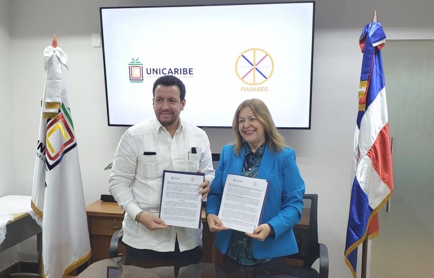 Fiadasec y Unicaribe promoverán enseñanza de valores