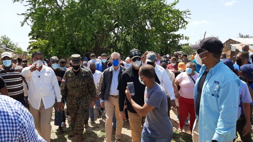 El presidente Luis Abinader ordena apoyo a damnificados de la Región Sur