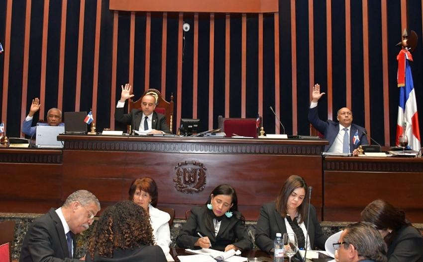 Senado aprueba resolución de declaratoria en estado de emergencia en todo el territorio nacional